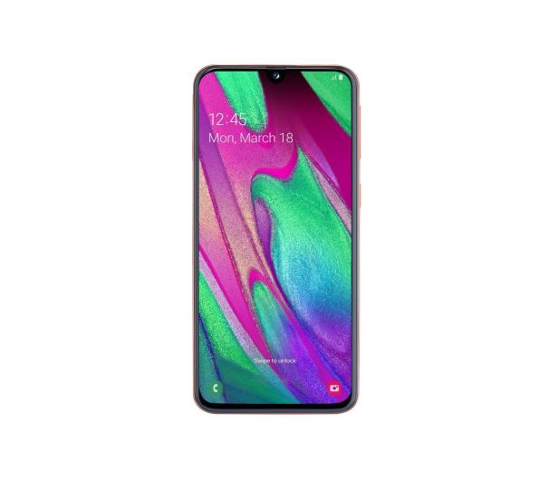 Samsung Galaxy A40 SM-A405FN Coral - 487576 - zdjęcie 2