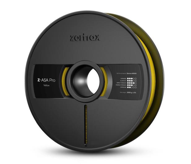 Zortrax Z-ASA Pro Yellow - 491124 - zdjęcie