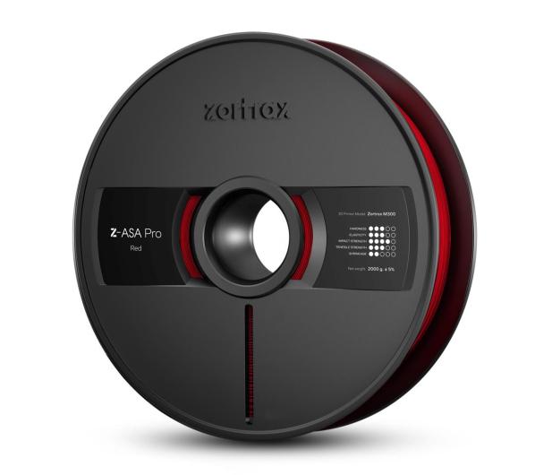 Zortrax Z-ASA Pro Red - 491123 - zdjęcie
