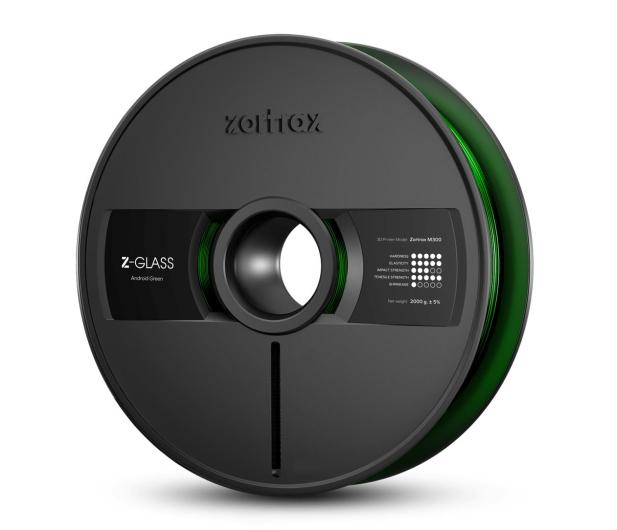 Zortrax Z-GLASS Android Green - 491097 - zdjęcie