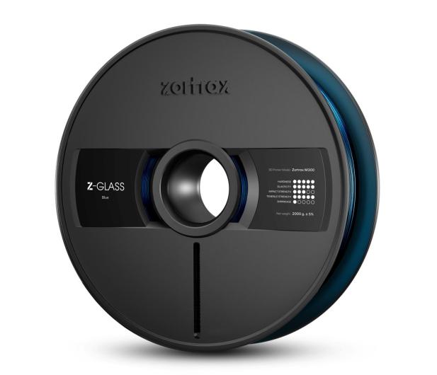 Zortrax Z-GLASS Blue - 491095 - zdjęcie