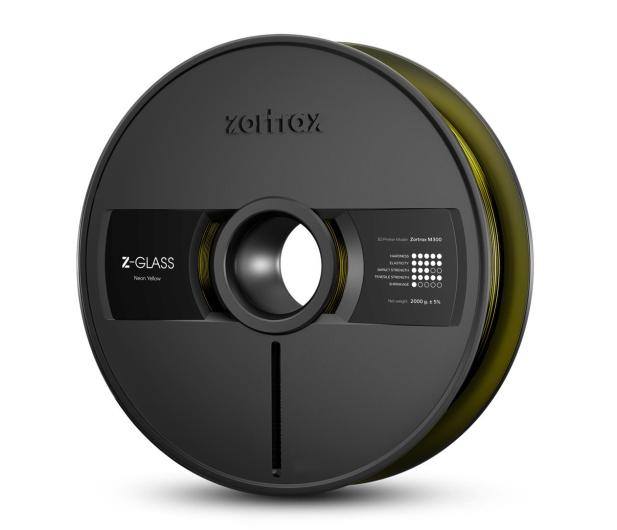 Zortrax Z-GLASS Neon Yellow - 491094 - zdjęcie