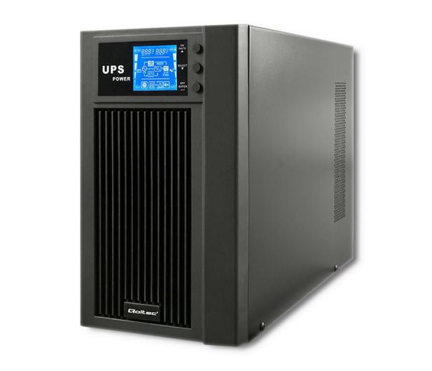 Qoltec Monolith (3000VA/2400W, PL, Schuko, IEC, USB, LCD) - 485356 - zdjęcie