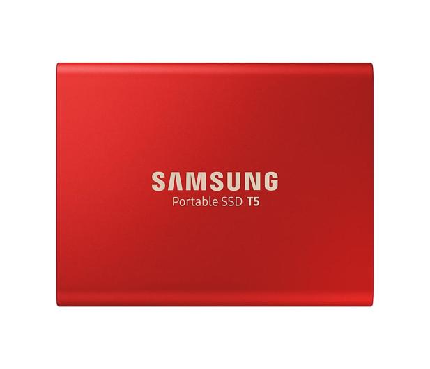 Samsung Portable SSD T5 1TB Red USB 3.1  - 490286 - zdjęcie