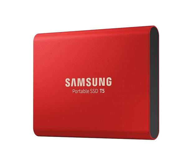 Samsung Portable SSD T5 1TB Red USB 3.1  - 490286 - zdjęcie 2