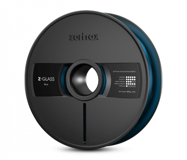 Zortrax Z-GLASS Blue - 491339 - zdjęcie