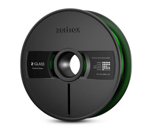 Zortrax Z-GLASS Android Green - 491345 - zdjęcie