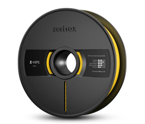 Zortrax Z-HIPS Yellow - 491416 - zdjęcie