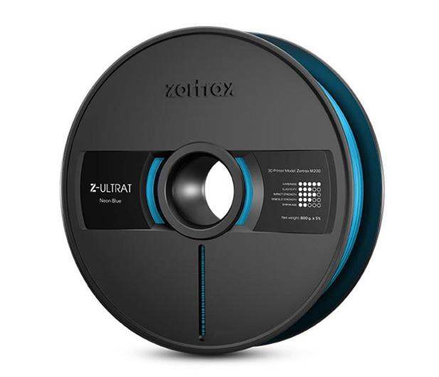 Zortrax Z-ULTRAT Neon Blue - 491303 - zdjęcie