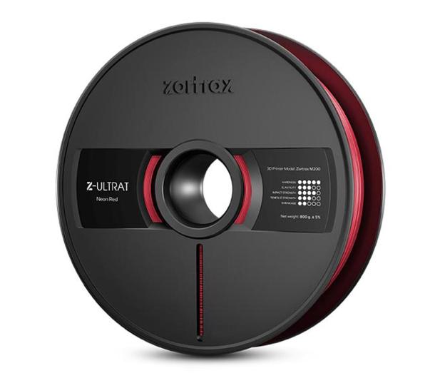Zortrax Z-ULTRAT Neon Red - 491316 - zdjęcie
