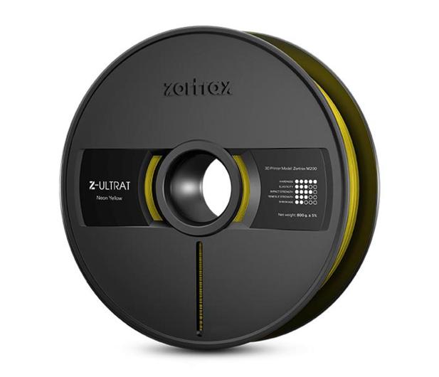 Zortrax Z-ULTRAT Neon Yellow - 491311 - zdjęcie