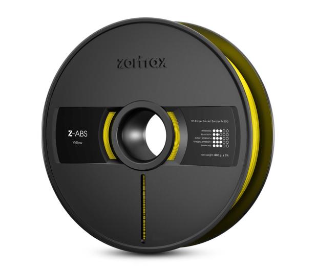 Zortrax Z-ABS Yellow - 491247 - zdjęcie
