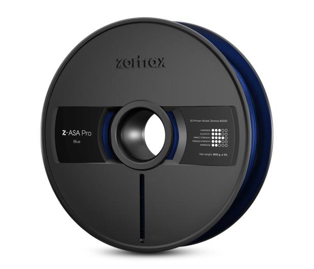 Zortrax Z-ASA Pro Blue - 491575 - zdjęcie