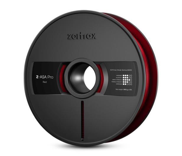 Zortrax Z-ASA Pro Red - 491576 - zdjęcie