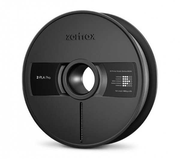 Zortrax Z-PLA Pro Concrete Grey - 491587 - zdjęcie