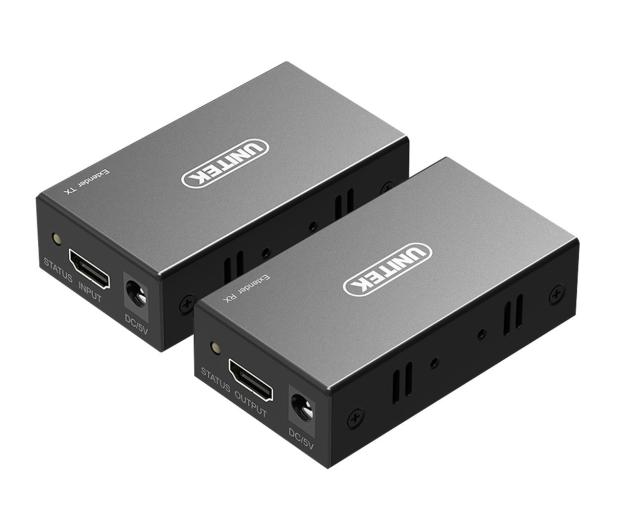 Unitek Wzmacniacz HDMI Ethernet 60m - 492057 - zdjęcie