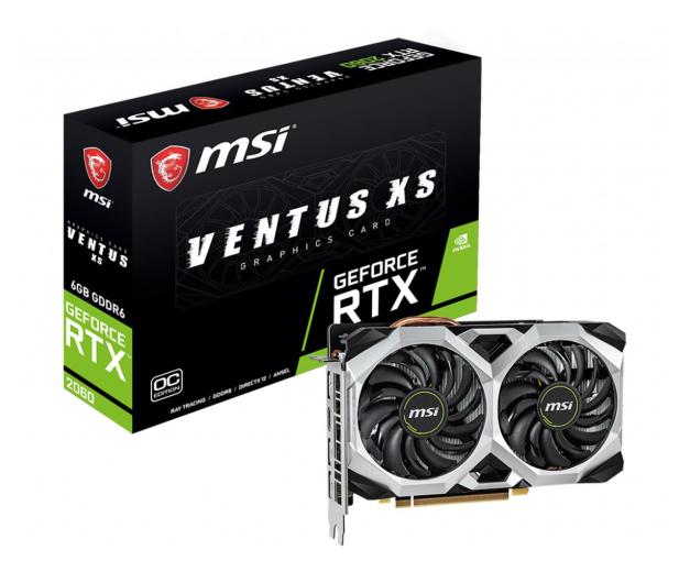 MSI GeForce RTX 2060 VENTUS XS OC 6GB GDDR6 - 492342 - zdjęcie