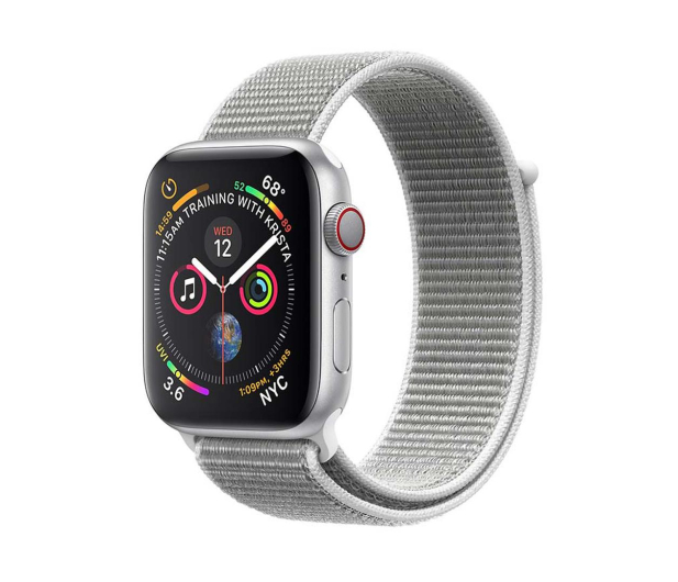 Apple Watch 4 40/SilverAluminium/SeashellSport Loop LTE - 491821 - zdjęcie 1