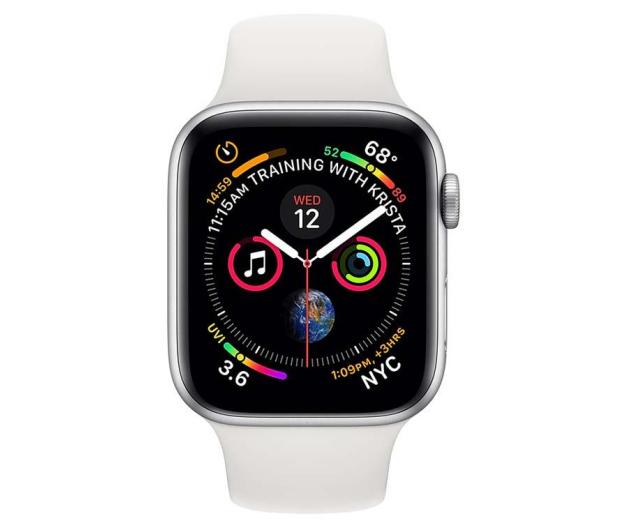 Apple Watch 4 40/Silver Aluminium/White Sport LTE - 491822 - zdjęcie 2