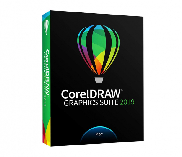 Corel CorelDRAW Graphics Suite 2019 PL BOX MAC - 492689 - zdjęcie