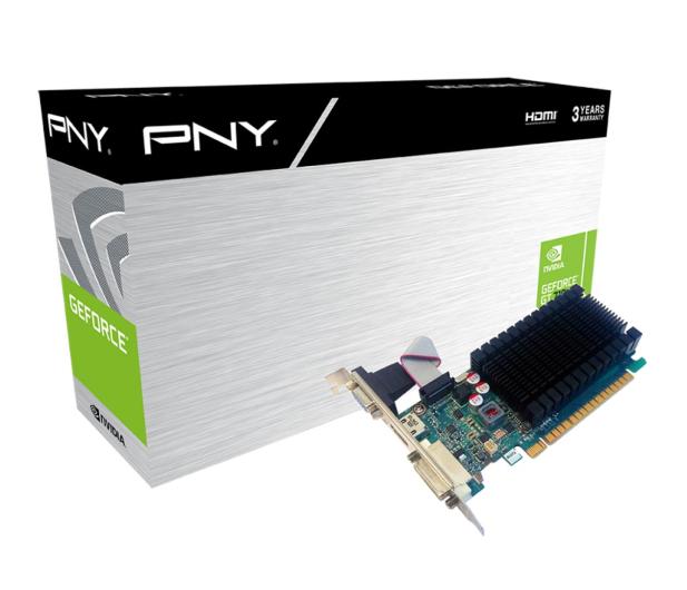 PNY GeForce GT 710 1GB DDR3 - 492487 - zdjęcie