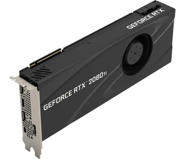 PNY GeForce RTX 2080 Ti Blower Design 11GB GDDR6 - 492533 - zdjęcie 3