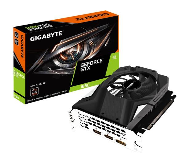 Gigabyte GeForce GTX 1650 MINI ITX OC 4GB GDDR5 - 492149 - zdjęcie