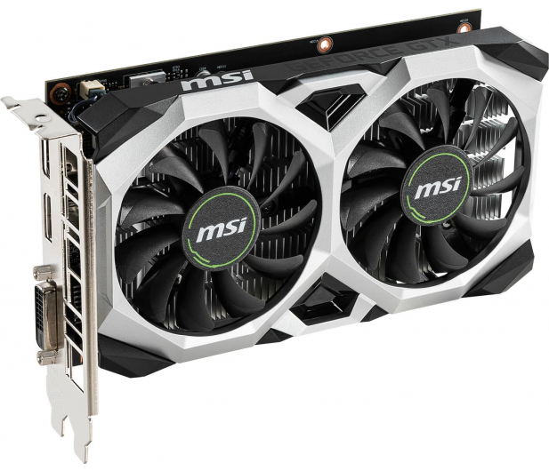 MSI GeForce GTX 1650 VENTUS XS OC 4GB GDDR5 - 492791 - zdjęcie 2