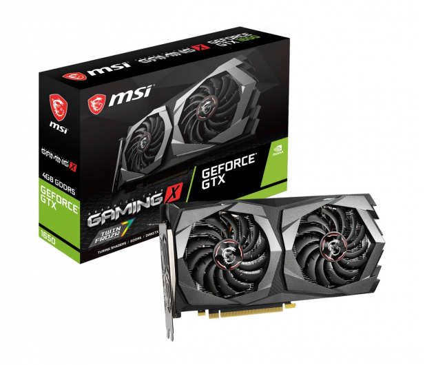 MSI GeForce GTX 1650 GAMING X 4GB GDDR5 - 492790 - zdjęcie