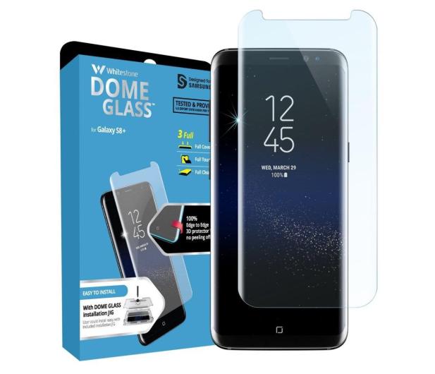 Whitestone Szkło Hartowane Dome Glass do Galaxy S8 - 489543 - zdjęcie