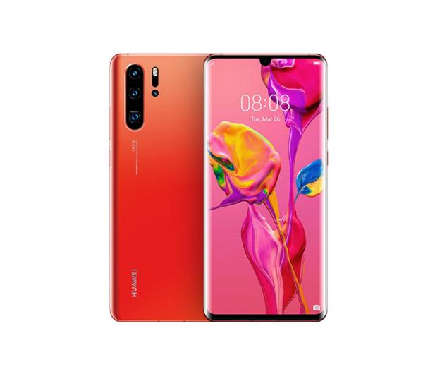 Huawei P30 Pro 256GB Bursztynowy - 483718 - zdjęcie
