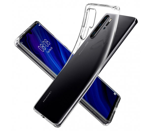 Spigen Liquid Crystal do Huawei P30 Pro Clear  - 489408 - zdjęcie 2
