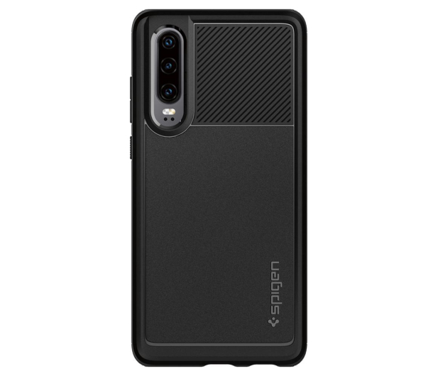 Spigen Rugged Armor do Huawei P30 Black  - 489430 - zdjęcie 4