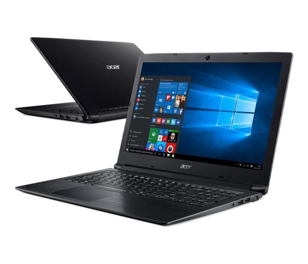 Acer Aspire 3 i5-8250U/4GB/256+1TB/Win10 FHD Czarny - 495931 - zdjęcie