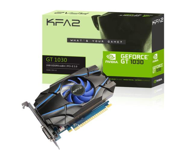 KFA2 GeForce GT 1030 2 GB GDDR5 - 492956 - zdjęcie