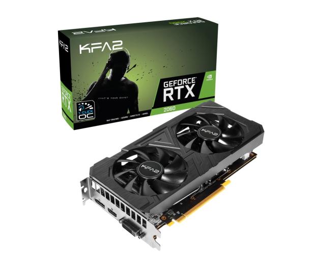 KFA2 GeForce RTX 2060 EX 1-Click OC 6GB GDDR6 - 492980 - zdjęcie