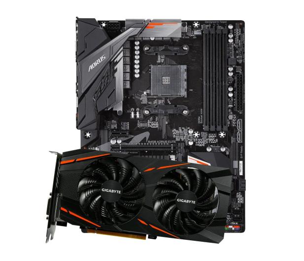 Gigabyte Radeon RX 580 GAMING 8GB GDDR5 + B450 AORUS ELITE - 493509 - zdjęcie