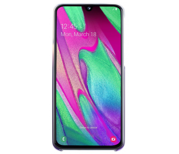 Samsung Gradation cover do Galaxy A40 fioletowe - 493079 - zdjęcie 3