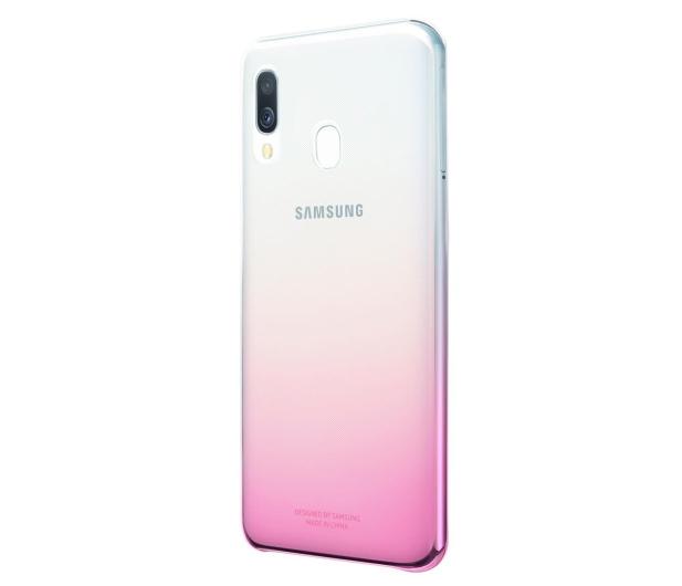 Samsung Gradation cover do Galaxy A40 różowy - 493080 - zdjęcie 2