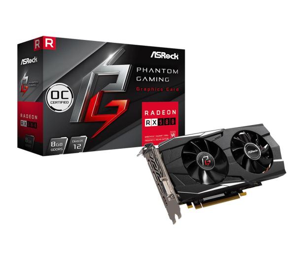 ASRock Radeon RX 580 Phantom Gaming D OC 8GB GDDR5 - 493552 - zdjęcie