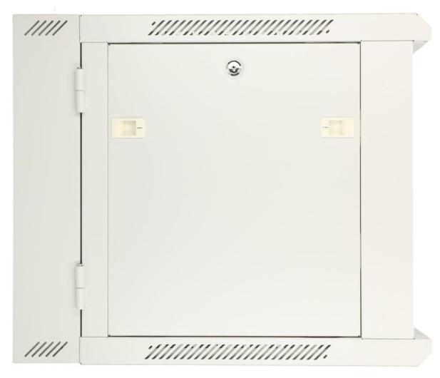 """ExtraLink Wisząca 19"""" 12U 600x600mm dwusekcyjna (szara)  - 489410 - zdjęcie 3"""