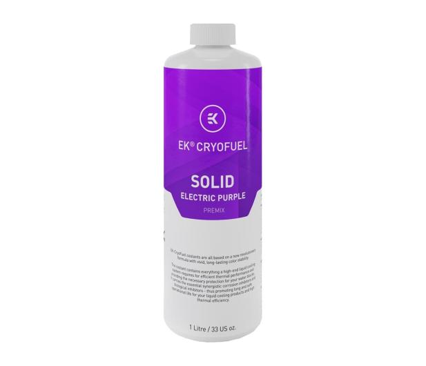 EKWB EK-CryoFuel Solid Electric Purple (Premix 1000mL) - 463026 - zdjęcie