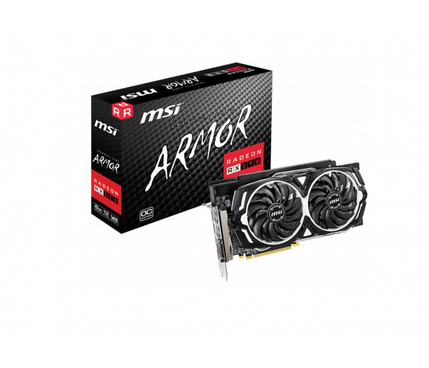 MSI Radeon RX 590 ARMOR OC 8GB GDDR5  - 489764 - zdjęcie
