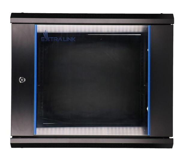 """ExtraLink Wisząca 19"""" 9U 600x450mm (czarna)  - 489298 - zdjęcie"""