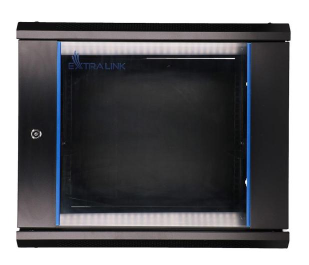 """ExtraLink Wisząca 19"""" 9U 600x600mm (czarna)  - 489306 - zdjęcie"""
