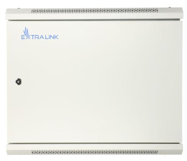 """ExtraLink Wisząca 19"""" 9U 600x600mm (szara)  - 489308 - zdjęcie 2"""