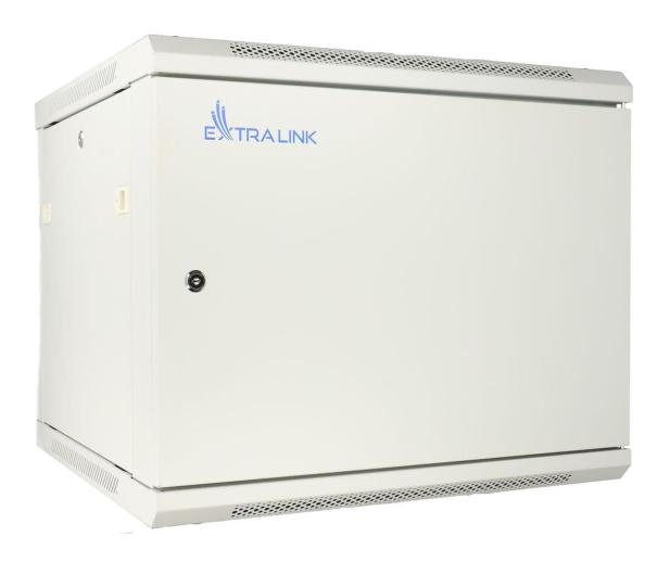 """ExtraLink Wisząca 19"""" 9U 600x600mm (szara)  - 489308 - zdjęcie"""