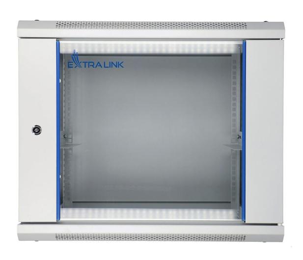 """ExtraLink Wisząca 19"""" 9U 600x600mm (szara)  - 489305 - zdjęcie"""