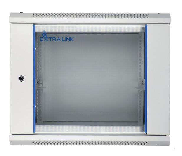 """ExtraLink Wisząca 19"""" 9U 600x450mm (szara)  - 489290 - zdjęcie"""