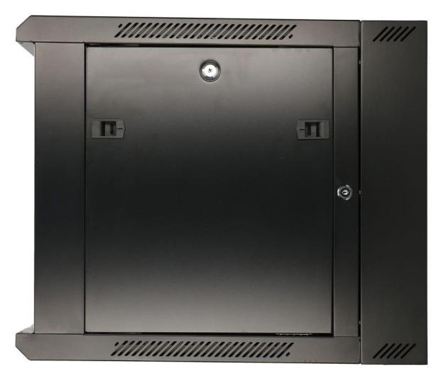 """ExtraLink Wisząca 19"""" 9U 600x600mm dwusekcyjna (czarna)  - 489357 - zdjęcie 4"""